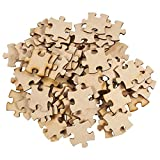 Blank Unfinished Wooden Jigsaw Puzzle (100 Pieces)