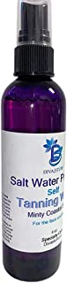 Diva Stuff Salt Water Princess Sunless Tanning Water, Self Tanner, Oil Free, For Face and Body, 4 oz