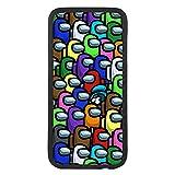 Coque de protection pour téléphone portable compatible avec Huawei P9 Among Personnages us TPU...