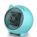 Calentador de aire portátil para el hogar de 250 W de potencia, calefactor eléctrico, ventilador de aire caliente,...