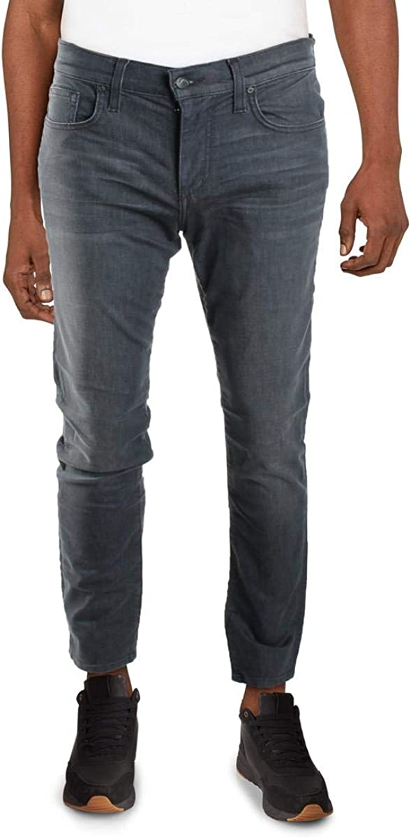 Joe's Jeans Mens Brixton Mid-Rise Straight Leg Jeans
