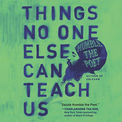 Things No One Else Can Teach Us audiobook cover art