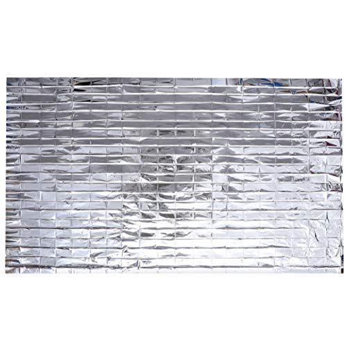 UPKOCH - Mulchsets für Rasenmäher in Silber, Größe 210X155CM