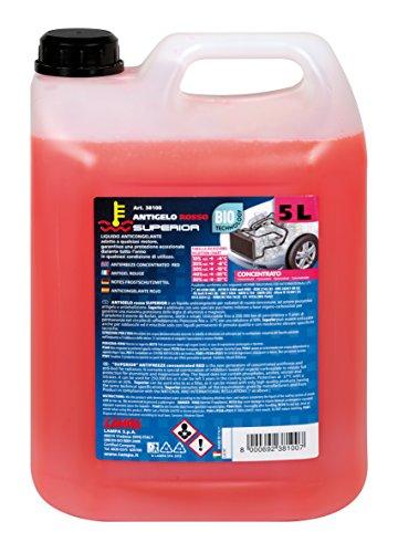 Lampa 38100 Antigelo Concentrato (-37°), Rosso, Flacone 5000 ml