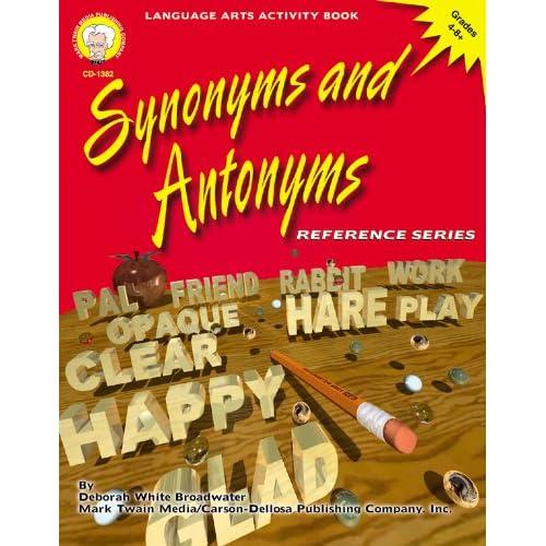 Synonym And Antonyms: Amazon.com
