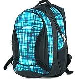 Mochila Escolar Grande para niños y niñas 40 litros yeepSport S106dx (Blue Matrix)