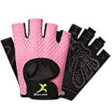 Gym Gloves, Lightweight Breathable Workout Gloves, Ultralight Weight Lifting Gloves for Men & Women Home Gym