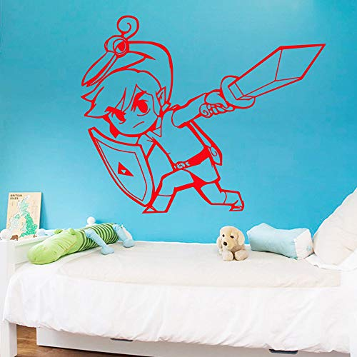 Tianpengyuanshuai cartoon muursticker vinyl muurschildering moderne mode woonkamer kinderkamer decoratie sticker creatieve stickers
