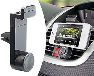MMOBIEL 360 Degrees Adjustable Car Mount Holder for All Smartphones (Black)