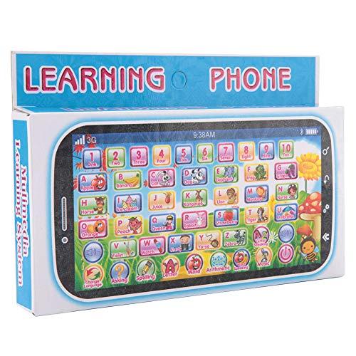 Yisenda Teléfono móvil para niños, Juego de Aprendizaje, Juguete Educativo, Fuerte y Duradero, Bonito y pequeño teléfono móvil para bebés, para el hogar de niños pequeños