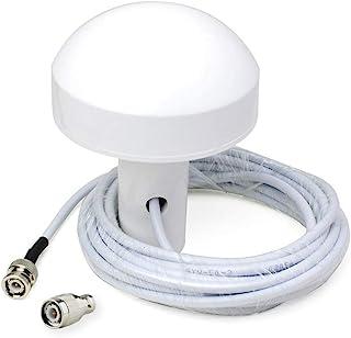 Bingfu Antena Externa de Navegación GPS Marina Barco (5m Cable) Compatible con Garmin GPSMAP Map NavTalk StreetPilot Furun...