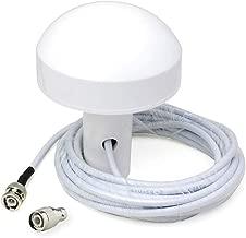 Bingfu Boat Ship Marine GPS Navigation External Antenna (5m Cable) Compatible with Garmin GPSMAP MAP NavTalk StreetPilot Furuno Matsutec Trimble GPS Modem Receiver Unit Transducer Fishfinder Sounder