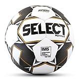 SELECT 2019/2020 Royale Soccer Ball, White/Black, Size 5