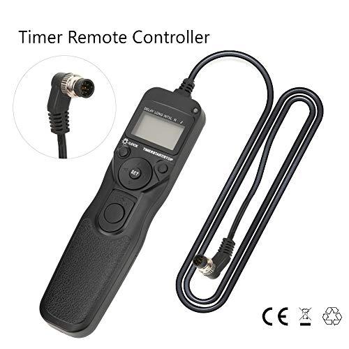 MC-30 SLR Camera Ontspanknop Afstandsbediening Trigger voor Nikon D300 D200 D700 D3X D2 F90 N90s F6 F5 D850 D810 D5 D4 D3, enz