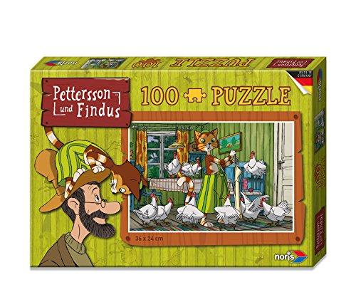noris 606031352 - Pettersson Findus Küche Puzzle, 100-teilig