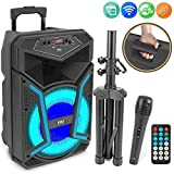 Best Pyle Bluetooth Speakers Portables - Pyle System-800W Outdoor Bluetooth Speaker Portable PA System Review