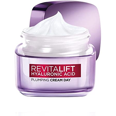 Loreal Paris Revitalift Hyaluronic Acid Plumping Day Cream for Women, 50ml