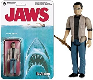 JAWS Funko Martin Brody Reaction 3 3/4-Inch Retro Action Figure