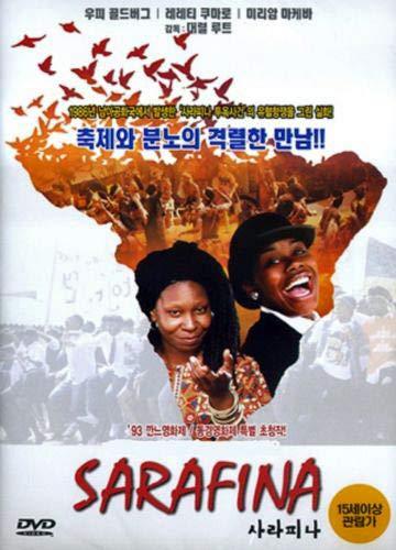 Sarafina (1992) UK Region 2 compatible ALL REGION DVD starring Whoopi Goldberg a.k.a. Sarafina!