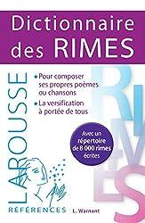Dictionnaire des Rimes de Léon Warnant