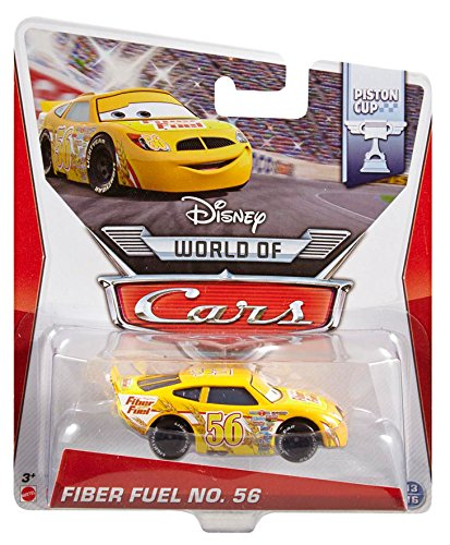 Disney Pixar Cars Fiber Fuel # 56 (Piston Cup Series, # 13 of 16) - Voiture Miniature Echelle 1:55