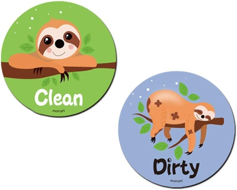 Dishwasher Magnet Clean Dirty Sign Direct store Max 69% OFF Non-Scratch Double Sided Flip