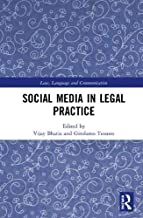 Social Media in Legal Practice (Law, Language and Communication)