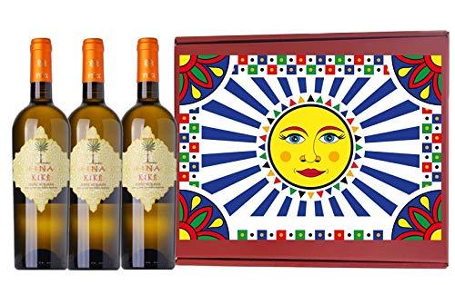 Terre Siciliane IGT Traminer Aromatico Sauvignon Blanc Kikè Fina 2020 75 CL - In Elegante BOX DA 3/6 / 12 VINO BIANCO KIKE' (3)