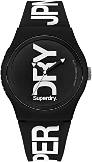 Superdry Urban Brand Fluoro Watch For Men - T SDWSYG189BW