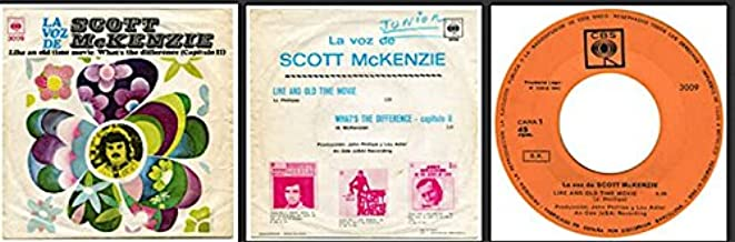 SCOTT MCKENZIE 45 - Like An Old TIme Movie/What's the Difference (import with PS)