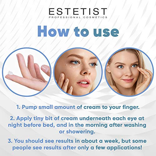 51EvZnmNqmL - Caffeine Infused Coffee Eye Lift Cream - Reduces Puffiness, Brightens Dark Circles, Firms Under Eye Bags - Anti Aging, Wrinkle Fighting Skin Treatment
