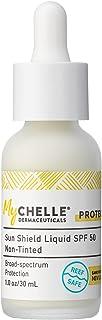 MyChelle Dermaceuticals Sun Shield Liquid Tint, SPF 50, Non-Tinted, 1.01 Fl Oz