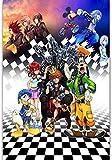 Puzzle Adult Puzzle 1000 Piezas Cartoon Kingdom Hearts Puzzle Decoración Mural
