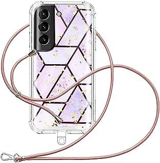 XCYYOO Coque de Téléphone, Compatible Samsung Galaxy S21 avec la Coque de Universelle Capes de Collier de Longe Ttéléphone...