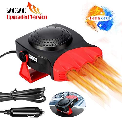 Car Heater Portable Fan Heater & Cooler Windshield Quick Defroster