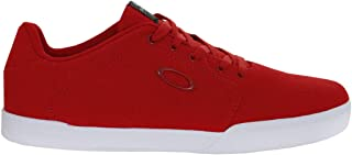 Oakley Mens Oakley Canvas Flyer Trainers - Red Line - UK 11.5