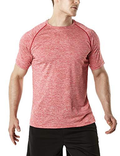 TSLA QuickrDri Athletic - Camiseta deportiva para hombre, Hombre Mujer Niños Niñas...