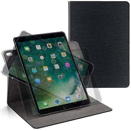 サンワダイレクト iPad Air 2019 / iPad Pro 10.5 専用ケース 360度回転 スタンド 角度調整 スリープ機能対応 ブラック 200-TABC011