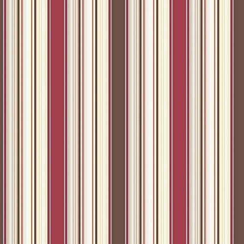 Galerie g67529Smart Streifen 2Tapete, 900W, rot/braun