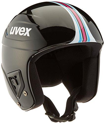 Uvex Erwachsene Race + Skihelm, Black-Pink, 58-59 cm
