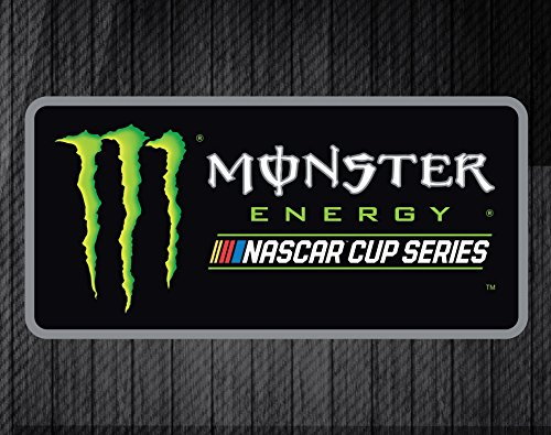 "Monster Energy Nascar 5""x 6"" Decal Single"
