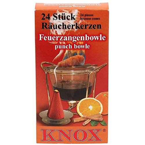 Sigro Knox Brenner Fire Zange Punch Räucherkegel, orange, 30 x 30 x 30 cm