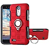 LG 2018 K8/K9 Case, Very Thin Square Style 360 Rotary