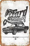 Cimily Ford Mustang 1967 Vintage Blechschild Metallschild