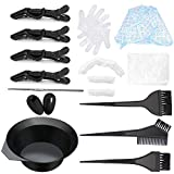 Haarfärbemittel Set für das DIY-Salonwerkzeug, einschließlich Haartönungsschale, Färbebürste,...