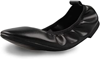 Best ladies leather flat shoes size 5 Reviews