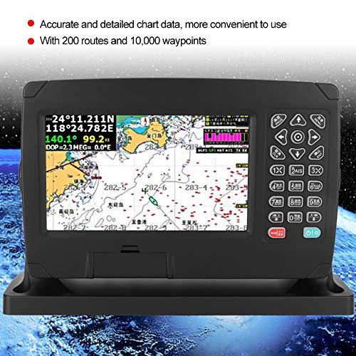GPS nautico cartografico, navigazione GPS 7 pollici Facile installazione per navigazione e posizionamento