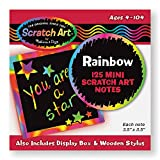 Melissa & Doug- Box of Rainbow Mini Tarjetas para Dibujar, Multicolor (15945)