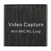 、HDビデオキャプチャカード、Lpcm持ち運びに便利な0.4A / 5V DC高品質HDMIゲームキャプチャカード、Vlc/Obs/Amcap / / / Os X用USB 2.0ビデオ
