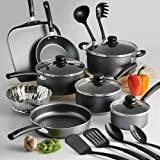 18 Piece Nonstick Pots & Pans Cookware Set Kitchen Kitchenware Cooking